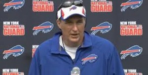 Bills head coach Doug Marrone is on the hot seat this year